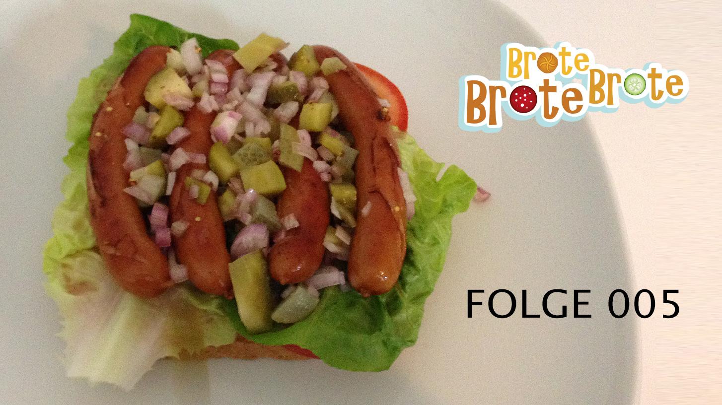 Hotdog-Brot Chicago Style – Folge 005