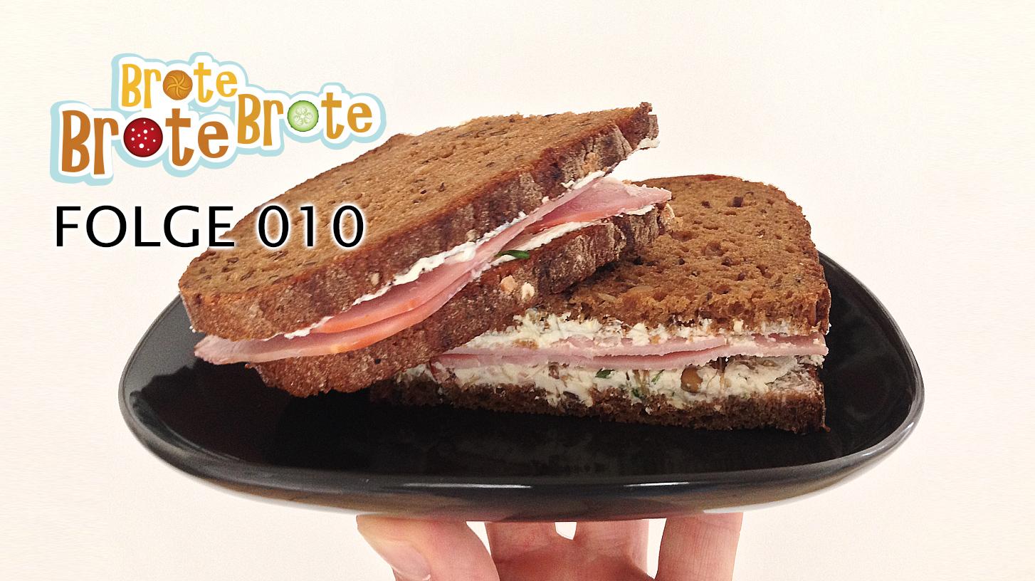 Frischkäse-Sprossen-Brot – Folge 010