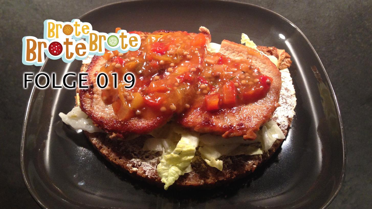 Minutensteak-Brot mit Mirabellen-Relish – Folge 019