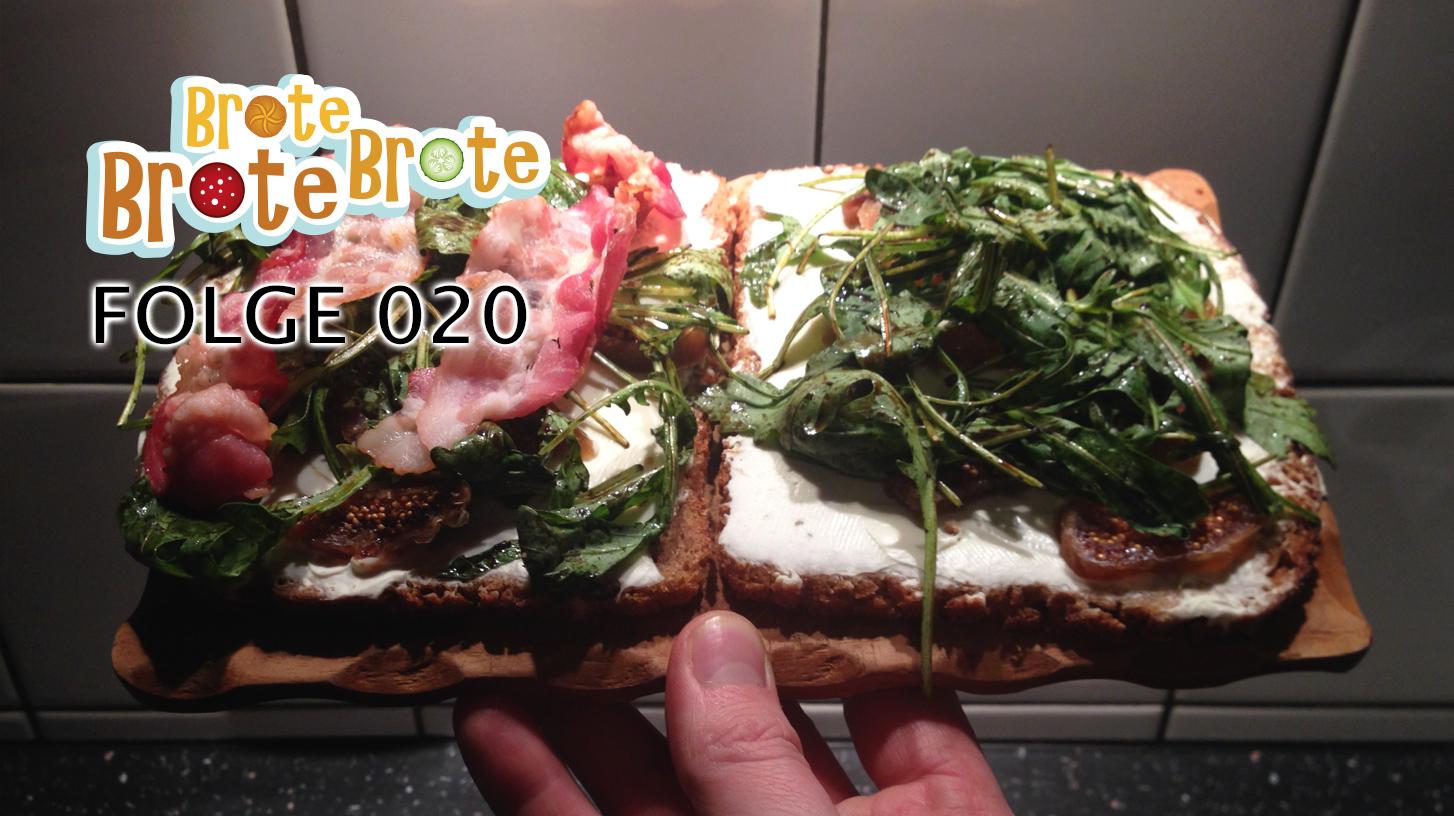 Rucola-Balsamico-Brot mit Landrahm & Feigen – Folge 020