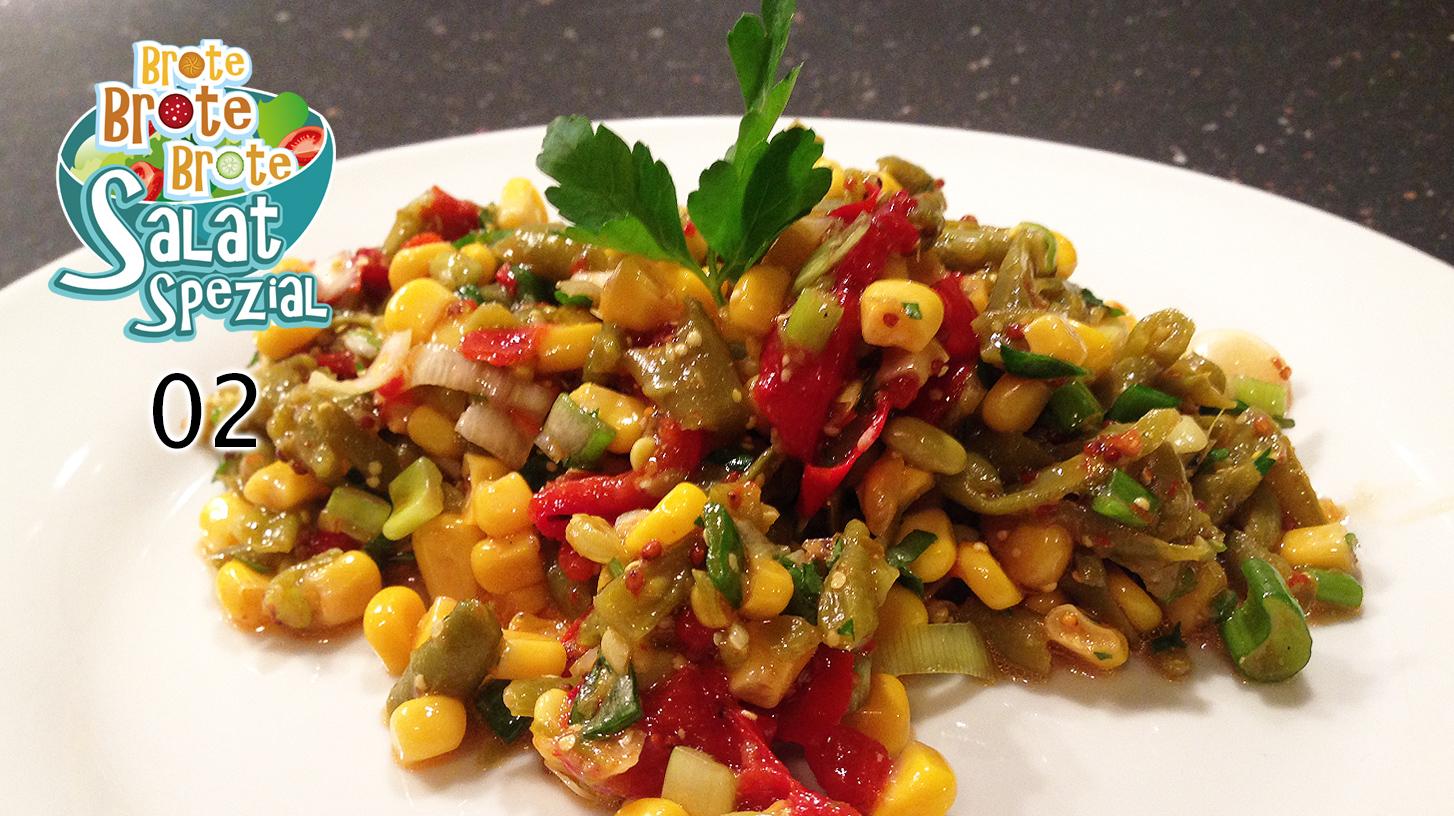 Bunter Gemüsesalat – Salat-Spezial 02