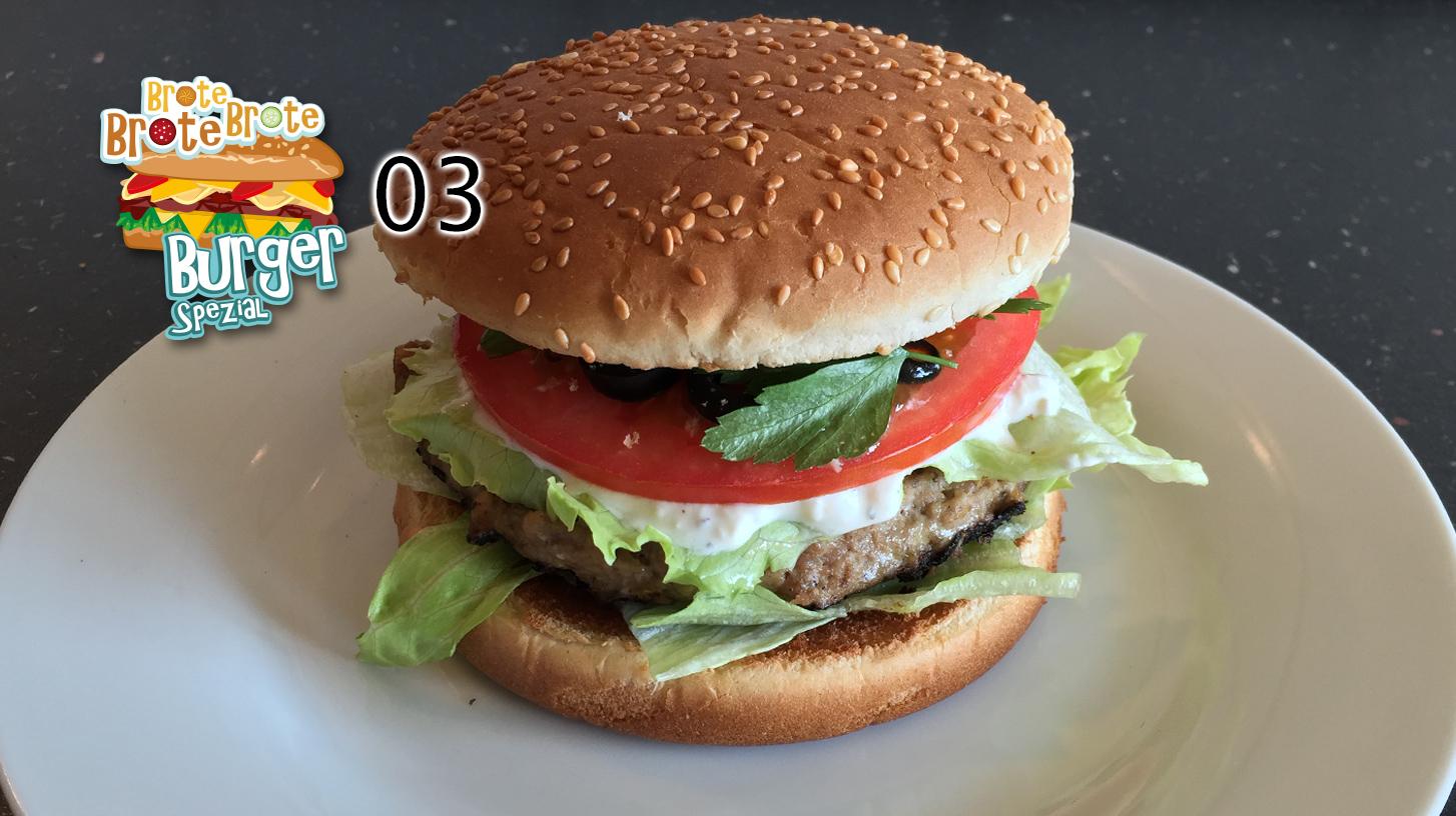 Griechischer Lamm-Burger – Burger-Spezial 03