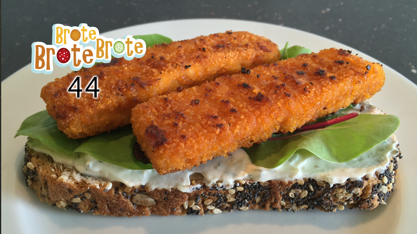 Fischstäbchen-Kräuterquark-Brot – Folge 044