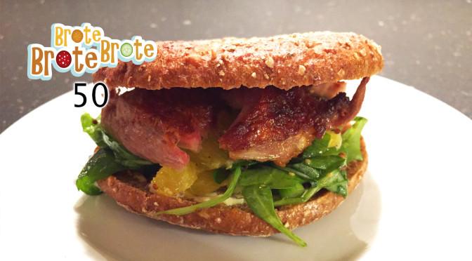 Folge 050 – Toastbrötchen mit Ente auf Orangen-Salat