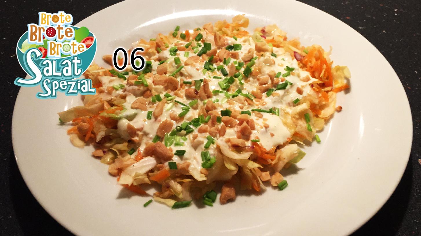 Spitzkohl-Möhren-Salat – Salat-Spezial 06
