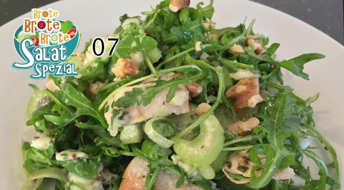 Hähnchen-Rucola-Salat mit Trauben & Nüssen – Spezial 07
