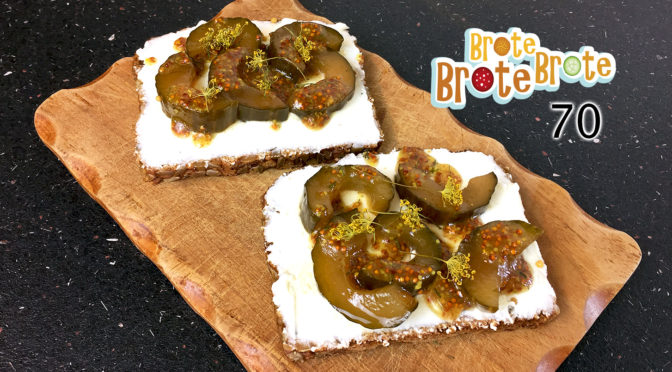Süßes Senfgurken-Brot