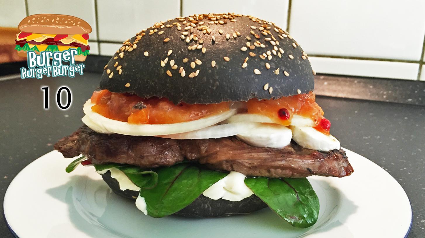 Black Entrecôte-Burger – BurgerBurgerBurger 10