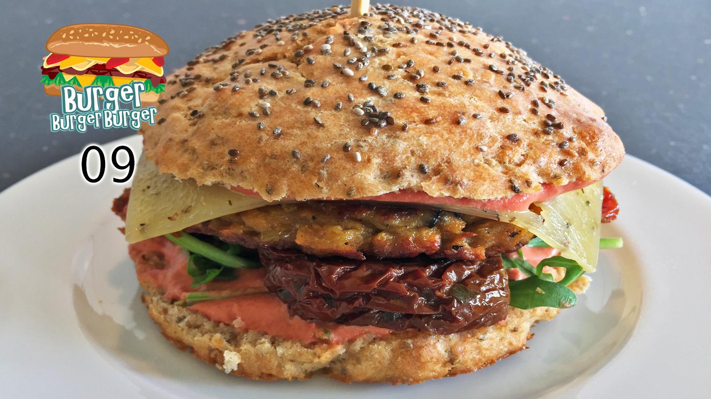Vegetarischer Süßkartoffel-Auberginen-Burger – BurgerBurgerBurger 09