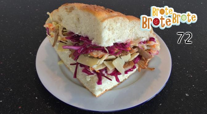 Pulled Pork-Sandwich