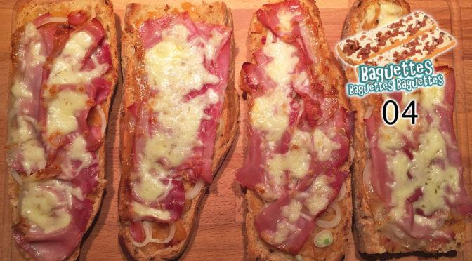 Zwiebel-Speck-Baguette