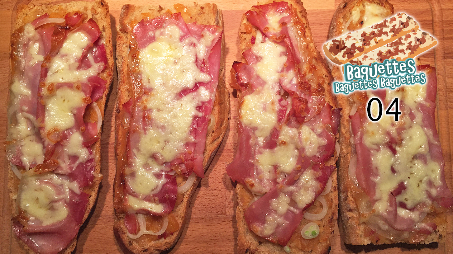 Exotisches Zwiebel-Speck-Baguette – Baguettes Baguettes Baguettes 04