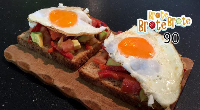 Spiegelei-Brot