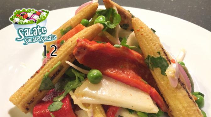 Gegrillter Paprika-Mais-Salat
