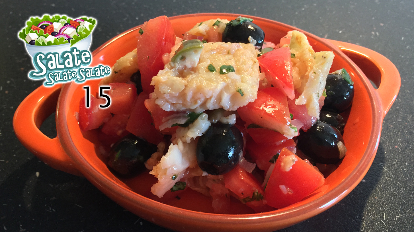 Pangasius-Salat