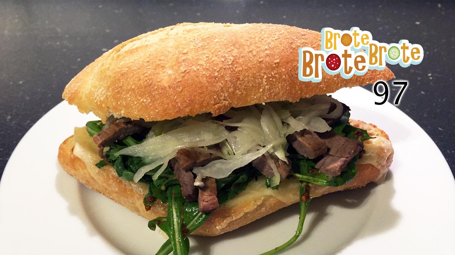Steak-Brötchen mit Gruyère – Folge 97