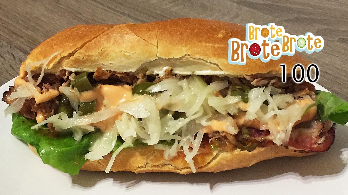 Schmelzkäse-Pork-Sandwich – Folge 100
