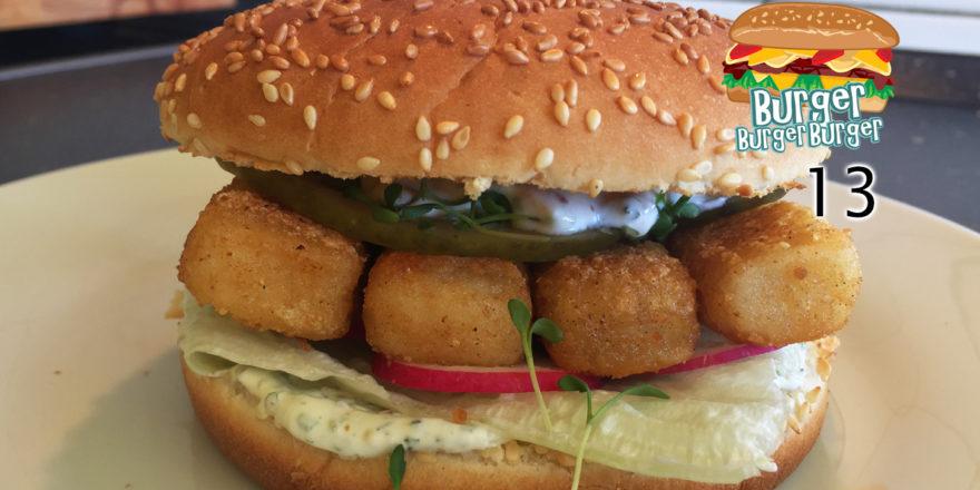 Bratfisch-Burger